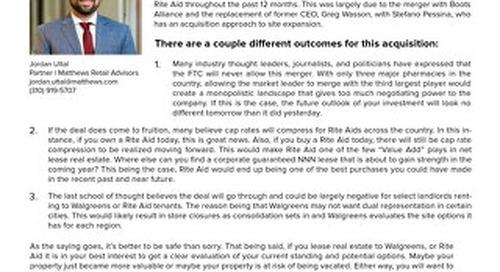 Walgreens Industry Insight