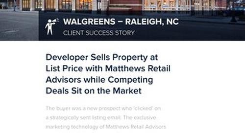 Walgreens Success Story