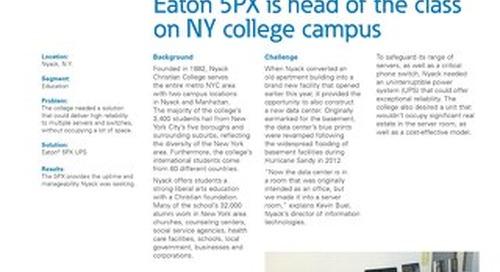 Case Study Nyack College