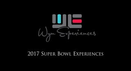 2017 SuperBowl Experience - WE