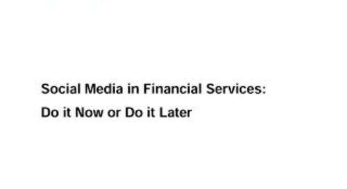 Social Media in Fiserv - Do It Now