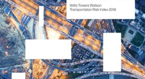 Willis Towers Watson - Transportation Risk Index