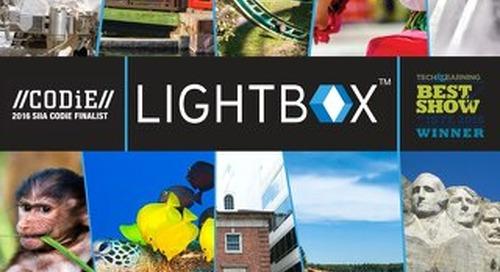 Elementary Lightbox Catalog