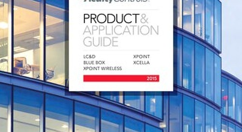 Acuity Controls Product & Application Guide