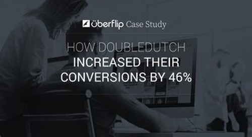 How DoubleDutch Increased Their Conversions by 46%