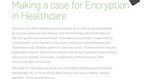 SafeGuard Making a Case for Encryption in Healthcare