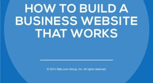 How to Build a Business Website That Works