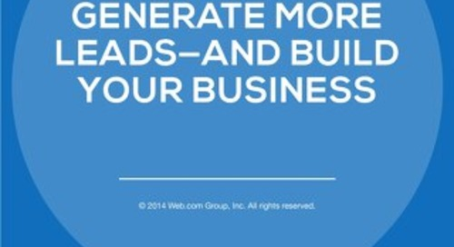 How to Generate More Leads and Build Your Business