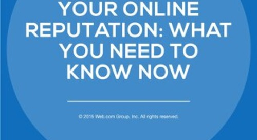 Managing Your Online Reputation: What You Need To Know