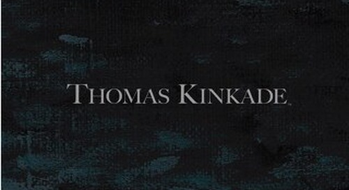 2017 Thomas Kinkade Fine Art