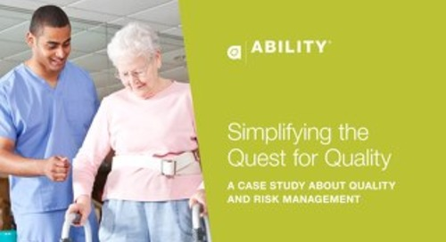 Simplifying the Quest for Quality: A Case Study about Quality and Risk Management