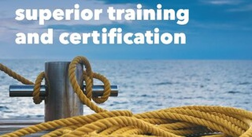 Marine certification and regulatory training 2017