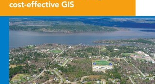 Small municipality automates service requests and meets PSAB requirements using cost-effective GIS