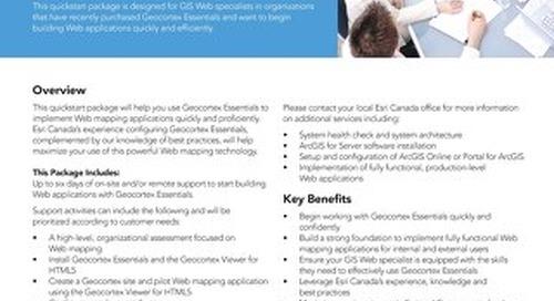 Geocortex Essentials - Quickstart Services Package