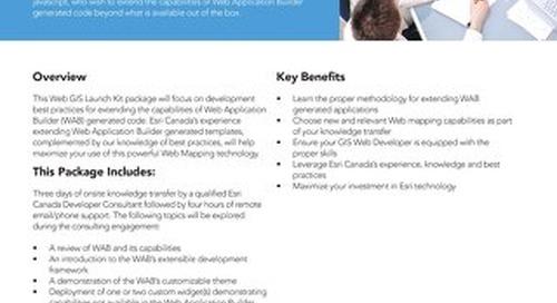Web Application Builder for Developers