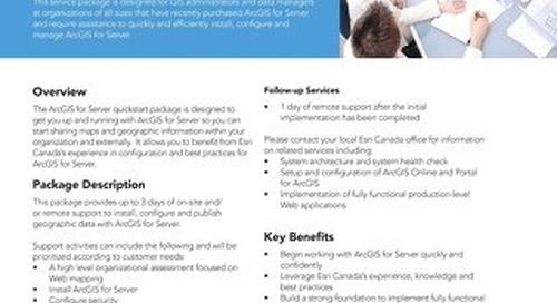 ArcGIS for Server Implementation - Quickstart Services Package