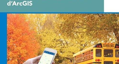 Un conseil scolaire améliore son efficacité et la planification des trajets d'autobus à l'aide d'ArcGIS
