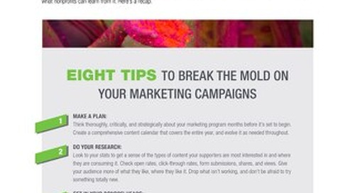 8 Tips to Break the Mold on Your Marketing Campaigns