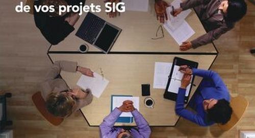 Services professionnels Une expertise et une expérience inégalées au service de vos projets SIG