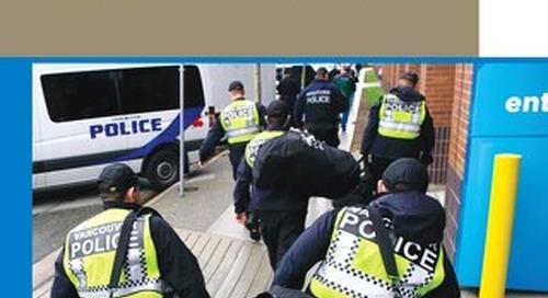 Un tableau de bord de l'application de la loi qui facilite la lutte contre le crime