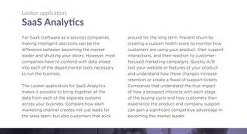 SaaS Analytics