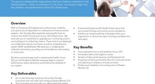 Enterprise ArcGIS Health Check