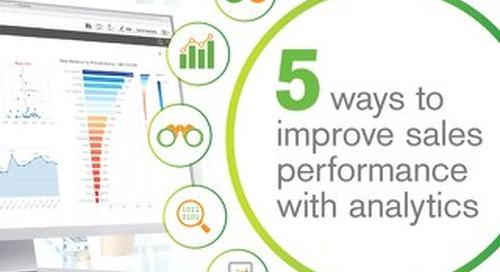 5 Ways to Improve Sales with Performance Analytics