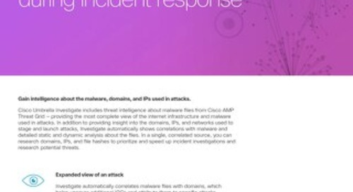 Investigate Use Case: Research files hashes during incident response.