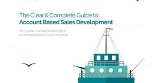 Engagio's Clear and Complete Guide to Account Based Sales Development