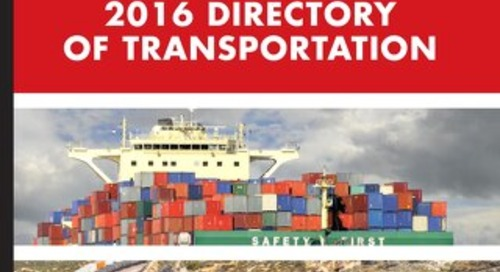 The Directory of Transportation Vol.2, 2016