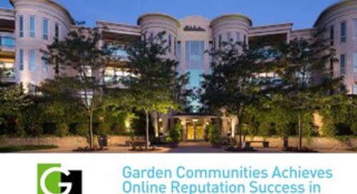 Garden Communities Achieves Reputation Success in Property Management - Case Study