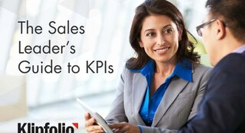 The Sales Leader's Guide to KPIs