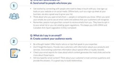 Five Ways to Jumpstart your Email program