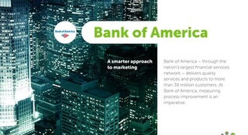 Bank of America Success Story