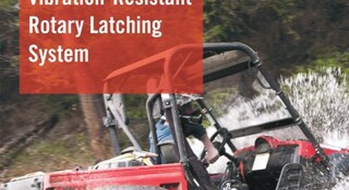 Vibration-Resistant Rotary Latching System