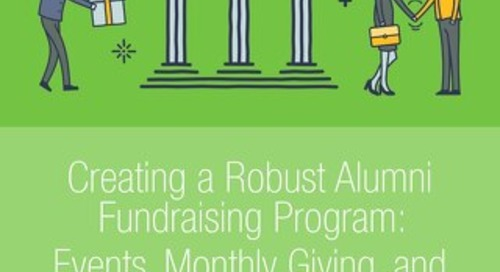 eBook: Creating a Robust Alumni Fundraising Program