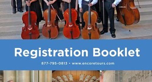 Encore Registration Booklet