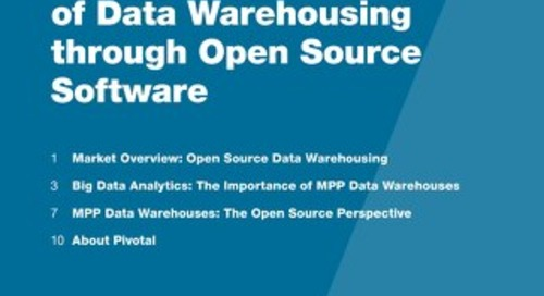 Shaping the Future of Data Warehousing through Open Source Software