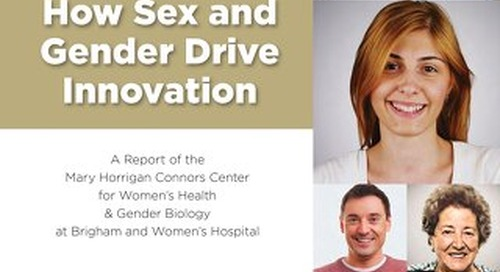 Precision Medicine: How Sex and Gender Drive Innovation