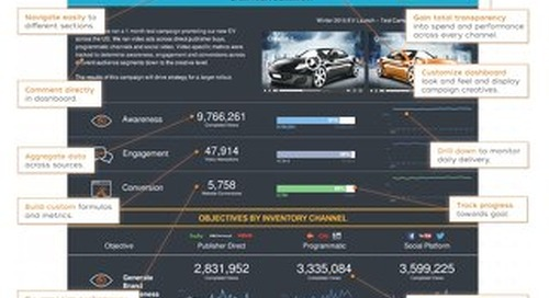 Video Campaign Dashboard