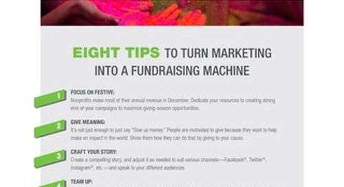 8 Tips to Turn Marketing into a Fundraising Machine