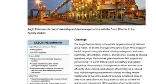 Cisco Mining Case Study