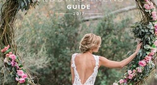 WeddingWire Wedding Trend Guide 2017
