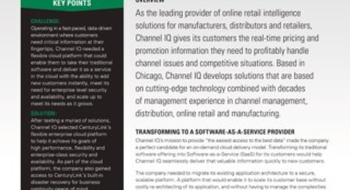 Channel IQ Tackles Retail Intel
