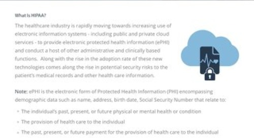 HIPAA and HITECH Compliance Guide