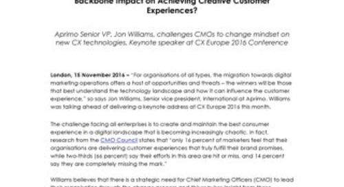 Do organisations understand CX marketing operations?