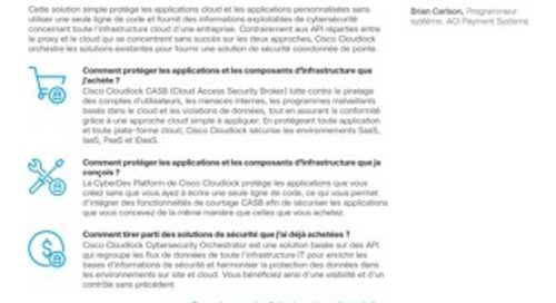 Cloudlock Security Platform – French