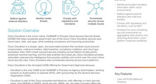 Cloud Security for Government