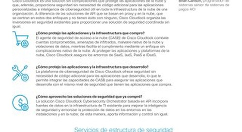 Cloudlock Security Platform – Spanish