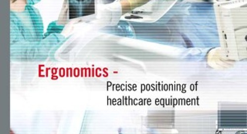 Ergonomics Positioning Solutions for Healthcare Equipment